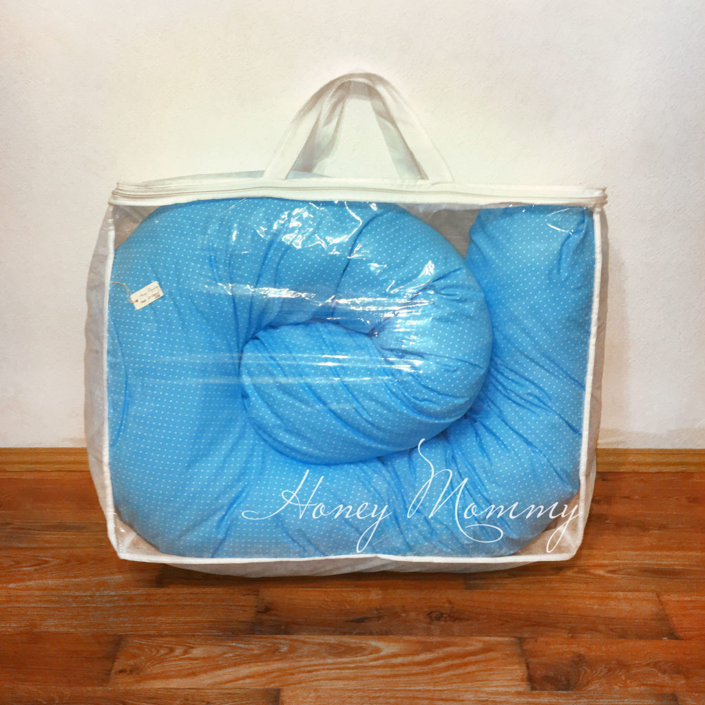 Подушка для беременных в сумке
