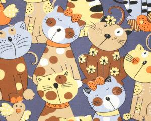Подушка для беременных с кошками