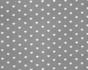 Подушка для кормления с наволочкой Сердечки на сером