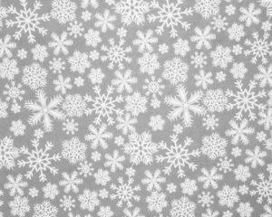 Подушка для беременных со снежинками
