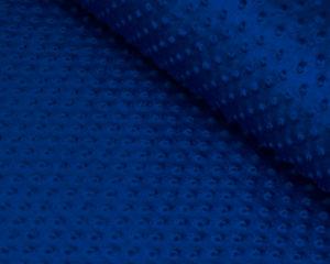 Синяя подушка плюшевая