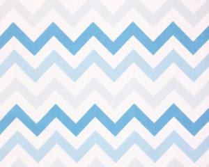 Подушка для беременных с наволочкой Синие зигзаги