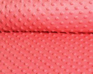 Красная плюшевая подушка