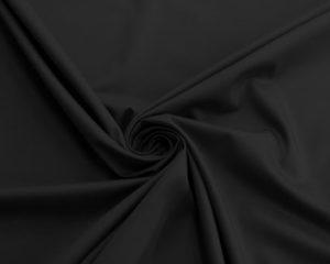 Черная сатиновая наволочка