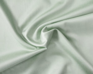 Сатиновая наволочка морозно-зеленая
