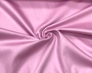 Розово-сиреневая сатиновая наволочка